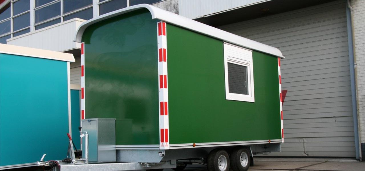 Kunststof kozijnen Bouwwagen